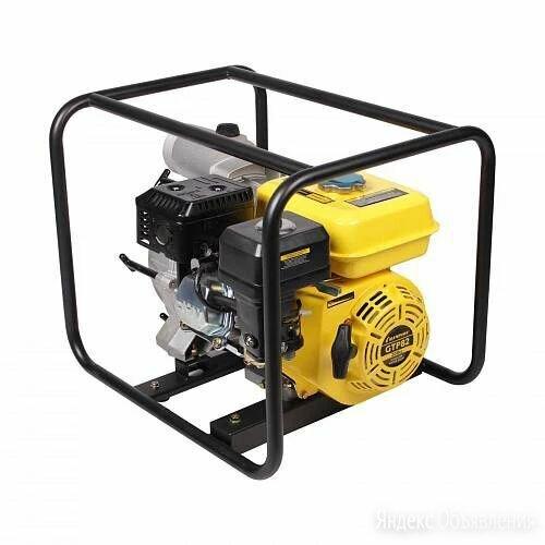 Мотопомпа бензиновая CHAMPION GTP82 для грязной воды по цене 23800₽ - Мотопомпы, фото 0