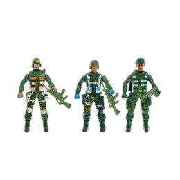 Солдатики - Набор солдатиков «Спецназ», 3 шт., 0