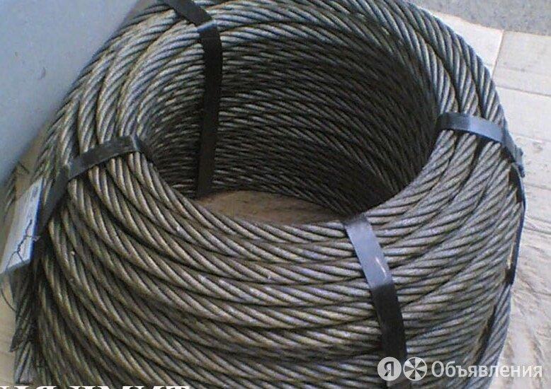 Канат стальной 39 мм ГОСТ 3077-80 ЛК-О 6х19(1+9+9)+1 по цене 352₽ - Металлопрокат, фото 0