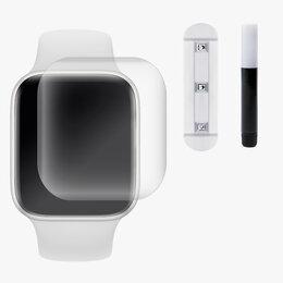 """Защитные пленки и стекла - Защитное стекло UV комплект для """"Apple Watch 42 mm"""", 0"""