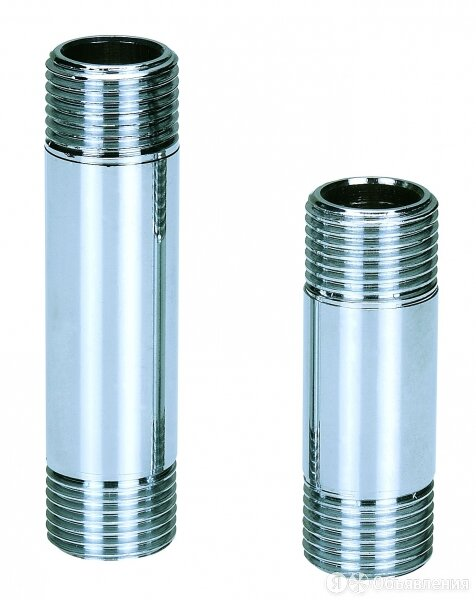 Удлинители AQUALINK Удлинитель с наружной резьбой AquaLink 02476 Ду-15 (100мм... по цене 246₽ - Водопроводные трубы и фитинги, фото 0