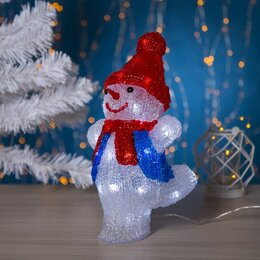 "Головоломки - Luazon Lighting Фигура акрил. ""Снеговик танцор малый"" 20х17х29 см, контроллер..., 0"