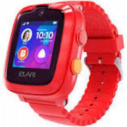 Ремешки для часов - Elari Ремешок Elari KidPhone 4G (Красный (Red)), 0
