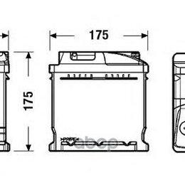 Аккумуляторы и комплектующие - Аккумуляторная Батарея 41ah Deta Standard 12 V 41 Ah 370 A Etn 0(R+) B13 207x..., 0