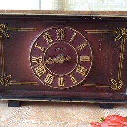 Часы настольные и каминные - Настольные часы маяк кварц ссср, 0
