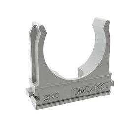Кабеленесущие системы - Держатель для труб (клипса) d40мм DKC 51040, 0