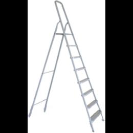 Лестницы и стремянки - Стремянка алюминиевая 8 ступеней, 0