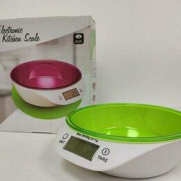 Кухонные весы - Кухонные весы чаша Electronic Kitchen Scale, 5 кг, 0