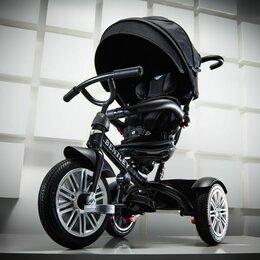Трехколесные велосипеды - Трехколесный велосипед Bentley 2021 черный, 0