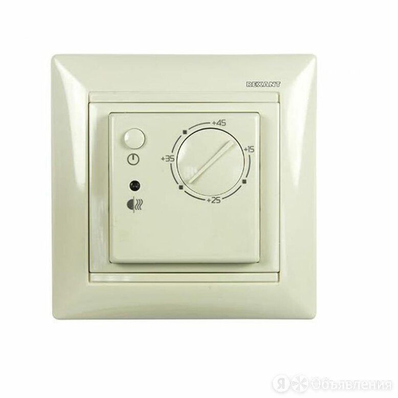 Механический терморегулятор REXANT RX-308B по цене 1619₽ - Электрический теплый пол и терморегуляторы, фото 0