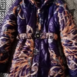 Куртки и пуховики - Тёплое пальто б/У на девочку 10 - 11 лет, в отличном состоянии. 1000 р. , 0