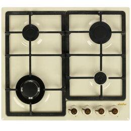Плиты и варочные панели - Поверхность газовая Simfer H60S41O417, 0