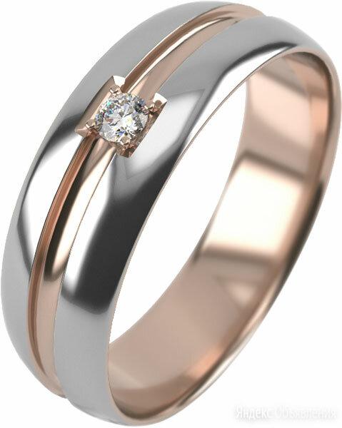 Обручальное кольцо Graf Кольцов EK-1-1f-bk/s_21 по цене 3770₽ - Кольца и перстни, фото 0