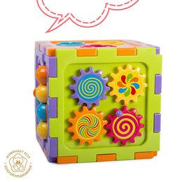 Развивающие игрушки - Развивающий куб-сортер, 0