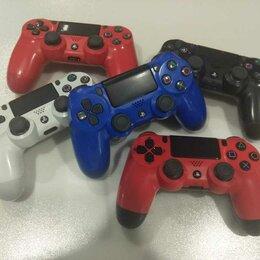 Рули, джойстики, геймпады - Оригинал геймпад DualShock 4 V2 PS4, 0