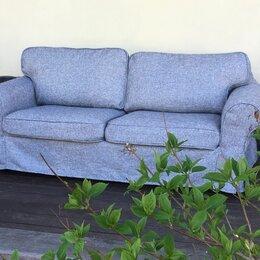 Чехлы для мебели - Чехол на диван-кровать Экторп  2-местный (ИКЕА), 0