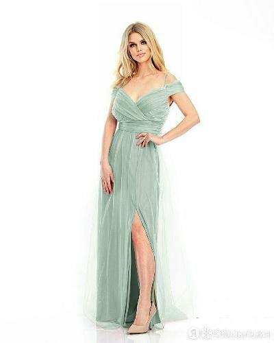 Вечернее платье, размер 46 (EURO 40) , артикул Т-38748 олива Турция Т-38748 о... по цене 4950₽ - Платья, фото 0