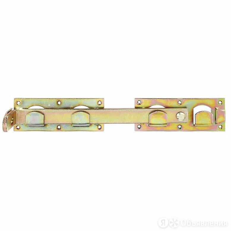 Оцинкованный засов для ворот GAH ALBERTS 210625 по цене 799₽ - Уголки, кронштейны, держатели, фото 0