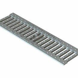 Решетки - Standartpark Решетка Basic РВ-10.14.50 щелевая чугунная оцинкованная 203036, 0