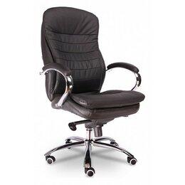 Компьютерные и письменные столы - Кресло Everprof Valencia M Кожа Черный, 0