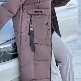 Пальто - Женское зимнее болоньевое пальто р-ры 48-60, 0