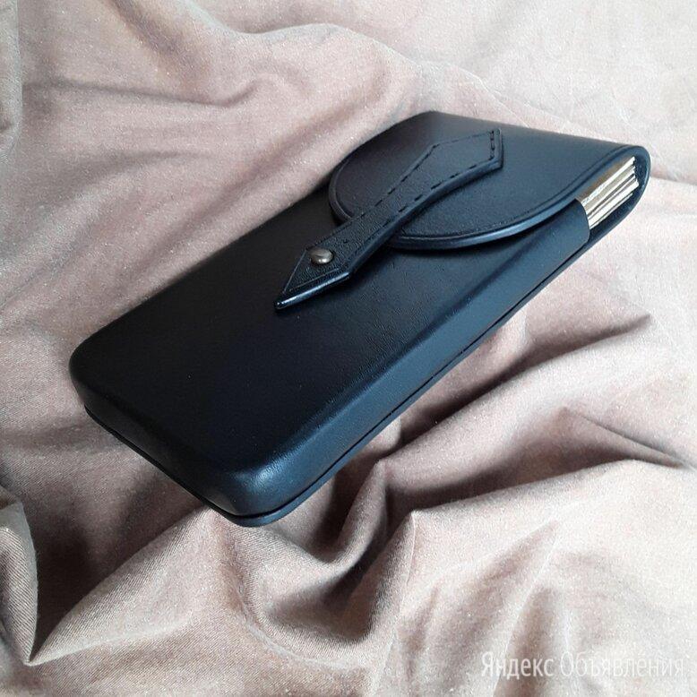 Чехол сумочка для телефона из натуральной кожи ручной работы  по цене 2500₽ - Чехлы, фото 0