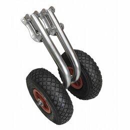 Аксессуары  - Транцевые колеса быстросъемные нержавейка с сумкой, 0