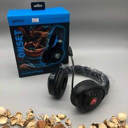 Наушники и Bluetooth-гарнитуры - Игровые наушники с микрофоном (новые), 0