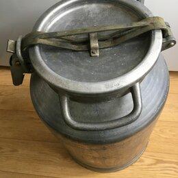Фляги - Фляга (бидон) алюминиевая, 0
