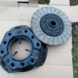 Трансмиссия  - Сцепление комплект УАЗ диаметр 255 мм. новое, 0
