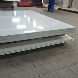 Металлопрокат - Лист металлический гладкий 0,7*1250*2500 мм ral9003 белый, 0