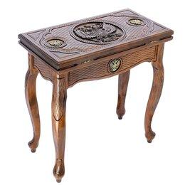"""Игровые столы - Стол ломберный нарды резные """"Империя"""" 66*32*64 см., 0"""
