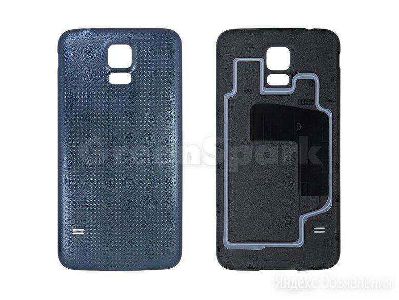 Задняя крышка для Samsung G900F Galaxy S5 (черный) по цене 180₽ - Корпусные детали, фото 0