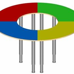 """Столы - Стол """"Кольцо"""" на регулируемых ножках., 0"""