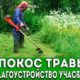 Бытовые услуги - Покос травы триммером, 0