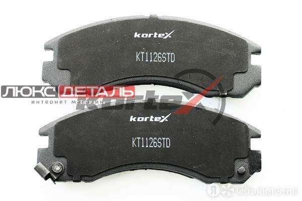 KORTEX KT1126STD Колодки торм.передн.к-т  по цене 1031₽ - Тормозная система , фото 0