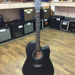 """Акустические и классические гитары - FT-221-BK Акустическая гитара 41"""", с вырезом, черная, Fante, 0"""