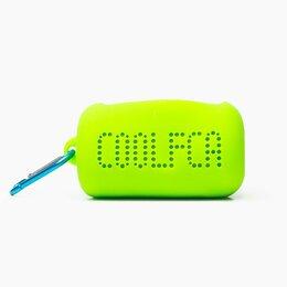 Аксессуары и комплектующие - Полотенце для фитнеса из микрофибры в силиконовом боксе 30*100 (green), 0