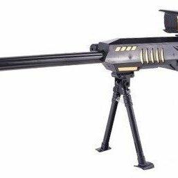 Игрушечное оружие и бластеры - Винтовка Barret M89 (93см) с гелевыми пулями на акб + лазер, 0