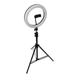 Осветительное оборудование - Кольцевая лампа со штативом LED  LIGHT D36 см J155, 0