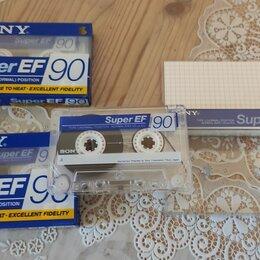 Музыкальные CD и аудиокассеты - Аудиокассеты Sony Super EF90 Japan, 0