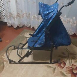 Санки и аксессуары - Санки - коляска , 0