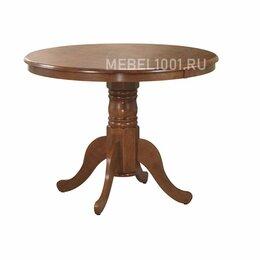 Столы и столики - Стол обеденный круглый из дерева HV COCO, Antique cherry, 0