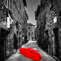 Зонты и трости - Красный зонт Артикул : GX 31781, 0