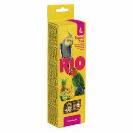 Корма - РИО палочки для средних попугаев с тропическими фруктами, 0