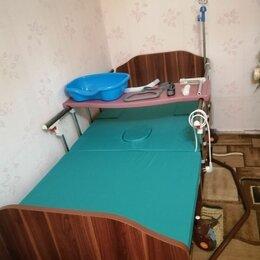 Устройства, приборы и аксессуары для здоровья - Кровать для лежачих больных с туалетом, 0