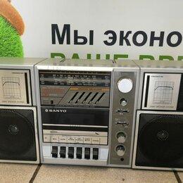 Музыкальные центры,  магнитофоны, магнитолы - SANYO M 9835 Радио Кассетный проигрыватель. Стерео динамики, 0