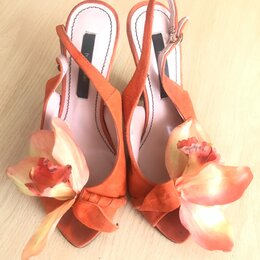 Босоножки - Босоножки на каблуке, 0