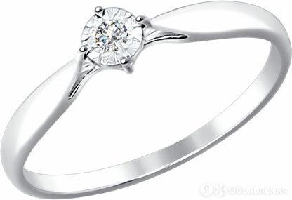 Помолвочное кольцо SOKOLOV 1011493_s_16 по цене 13940₽ - Кольца и перстни, фото 0
