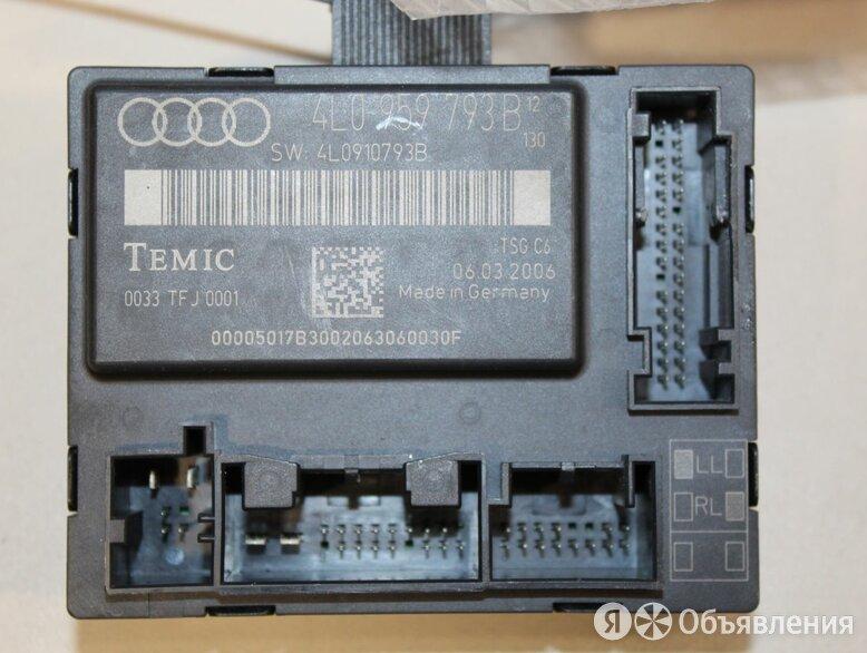 Блок комфорта передней левой двери Audi Q7 4L 2005-2015 по цене 1000₽ - Электрика и свет, фото 0